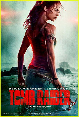 Check out the first poster from 'Tomb Raider'!