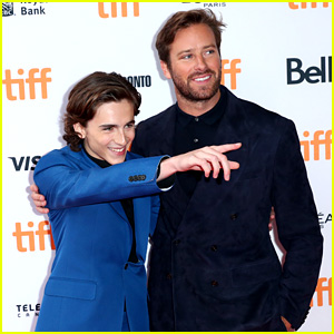 Armie Hammer & Timothee Chalamet Suit Up for 'Call Me By Your Name' TIFF Premiere!