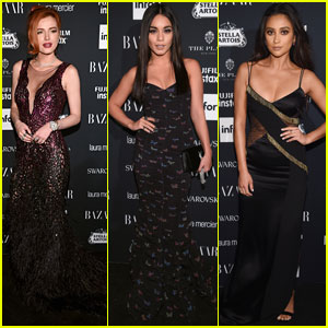 Bella Thorne, Vanessa Hudgens, & Shay Mitchell Arrive in Style for Star-Studded NYFW Party!