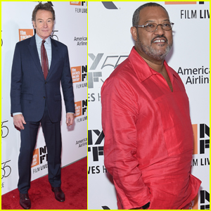 Bryan Cranston & Laurence Fishburne Premiere 'Last Flag Flying' in NYC