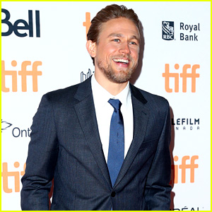 Charlie Hunnam's Smile Is Full of Joy at TIFF Premiere!