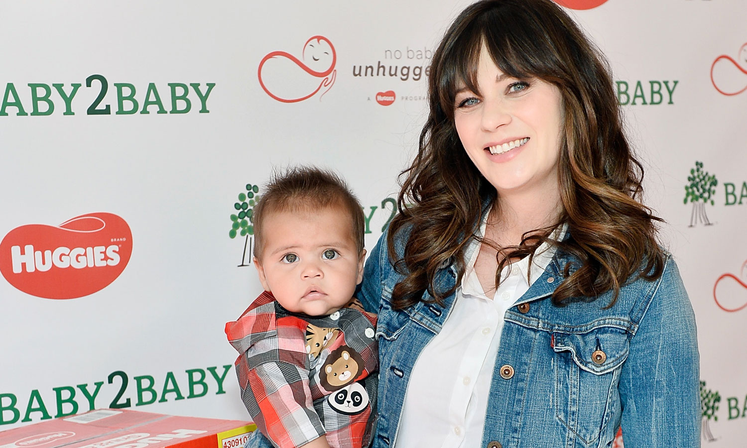 Zooey Deschanel Kicks Off National Diaper Need Awareness ...