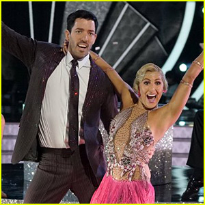 Drew Scott Quicksteps to an Improved Score on 'DWTS' Ballroom Night (Video)
