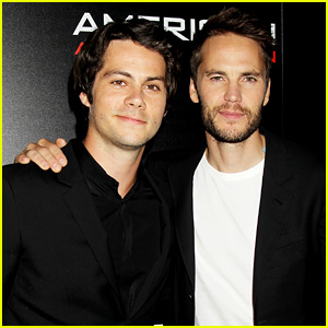 Dylan O'Brien & Taylor Kitsch Suit Up for 'American Assassin' NYC Screening