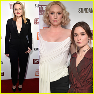 Elisabeth Moss, Gwendoline Christie, & Alice Englert Attend 'Top of the Lake: China Girl' Screening in NYC