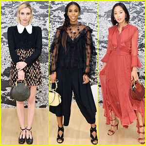 Emma Roberts & Kelly Rowland Slay at Chloe x Moca Dinner
