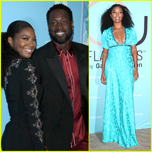 Gabrielle Union is Joined by Dwyane Wade at Pre-Emmys Party