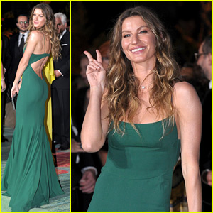Gisele Bundchen Receives Honor at Green Carpet Fashion Awards
