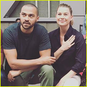 'Grey's Anatomy' Cast Joins Jesse Williams in Taking a Knee (Photo)