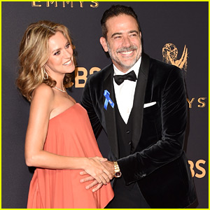 Hilarie Burton is Pregnant, Debuts Baby Bump with Jeffrey Dean Morgan at Emmys 2017
