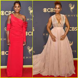 Issa Rae & Anika Noni Rose Stun On Emmys 2017 Red Carpet!
