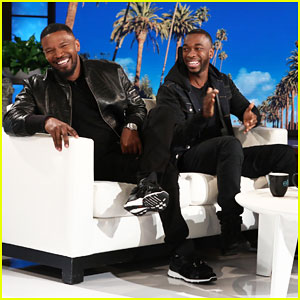 Jamie Foxx & Jay Pharoah Play the Impressions Game on 'Ellen' - Watch Here!