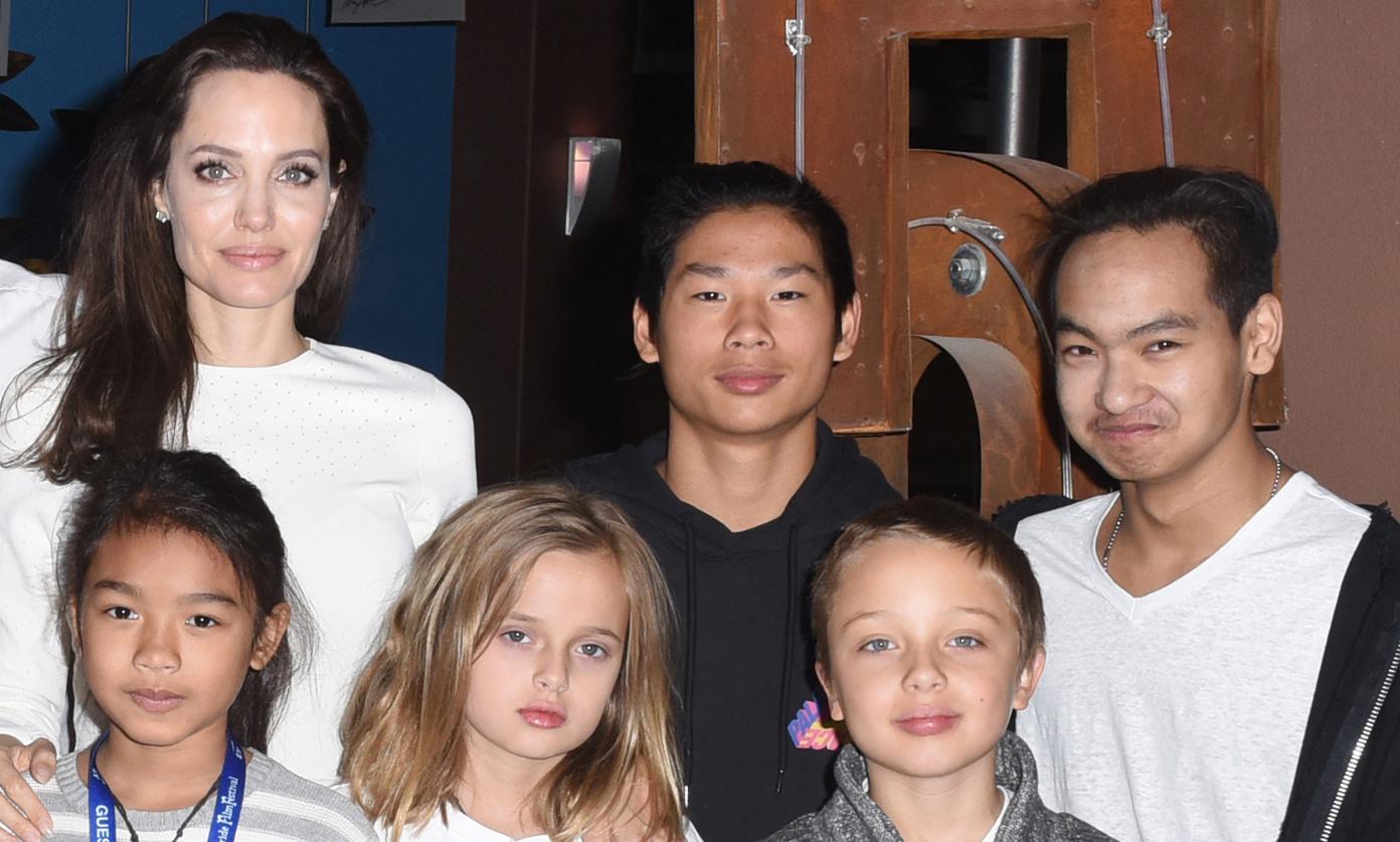 Angelina Jolie's Six Kids Look So Grown Up at Telluride ... Angelina Jolie Kids