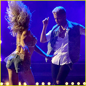 Jordan Fisher Sambas in His Cuban Heels for 'DWTS' Latin Night (Video)