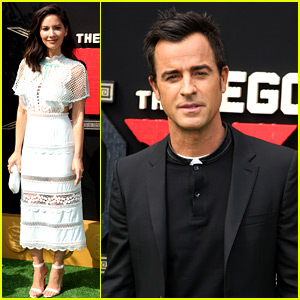 Justin Theroux, Olivia Munn, & 'Lego Ninjago' Cast Premiere Their Movie in L.A.