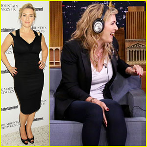 Kate Winslet Plays the Whisper Challenge with Jimmy Fallon - Watch Here!