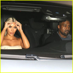 Kim Kardashian & Kanye West Have a Date Night After Baby Girl Rumors!