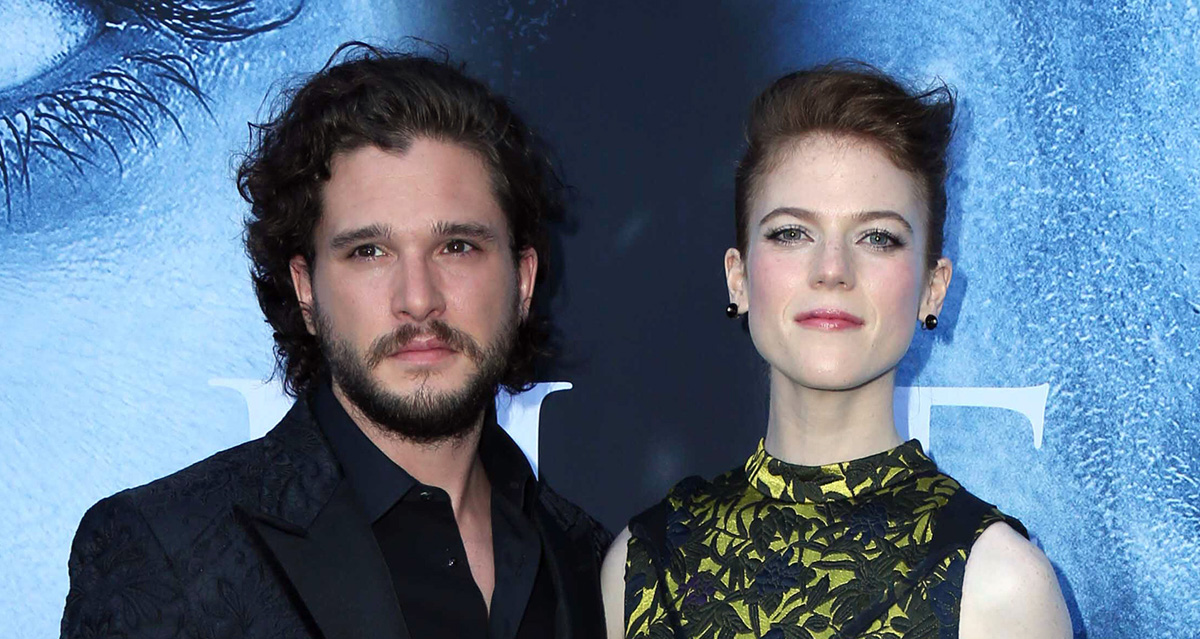 Kit Harington & Rose Leslie Are Engaged! (Report