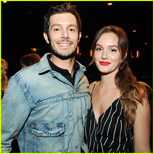 Leighton Meester Supports Adam Brody at 'Big Bear' Premiere
