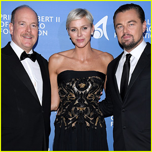 Leonardo DiCaprio Rubs Shoulders with Royalty at a Gala to Save the Ocean