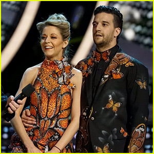 Lindsey Stirling Dances Like a Butterfly for 'DWTS' Ballroom Night (Video)