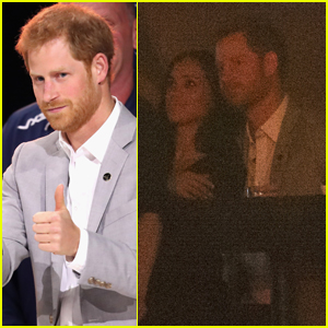 Meghan Markle Cozies Up to Prince Harry at Invictus Games!