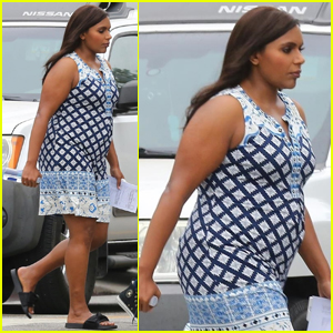 Mindy Kaling Steps Out After 'The Mindy Project' Wrap Party