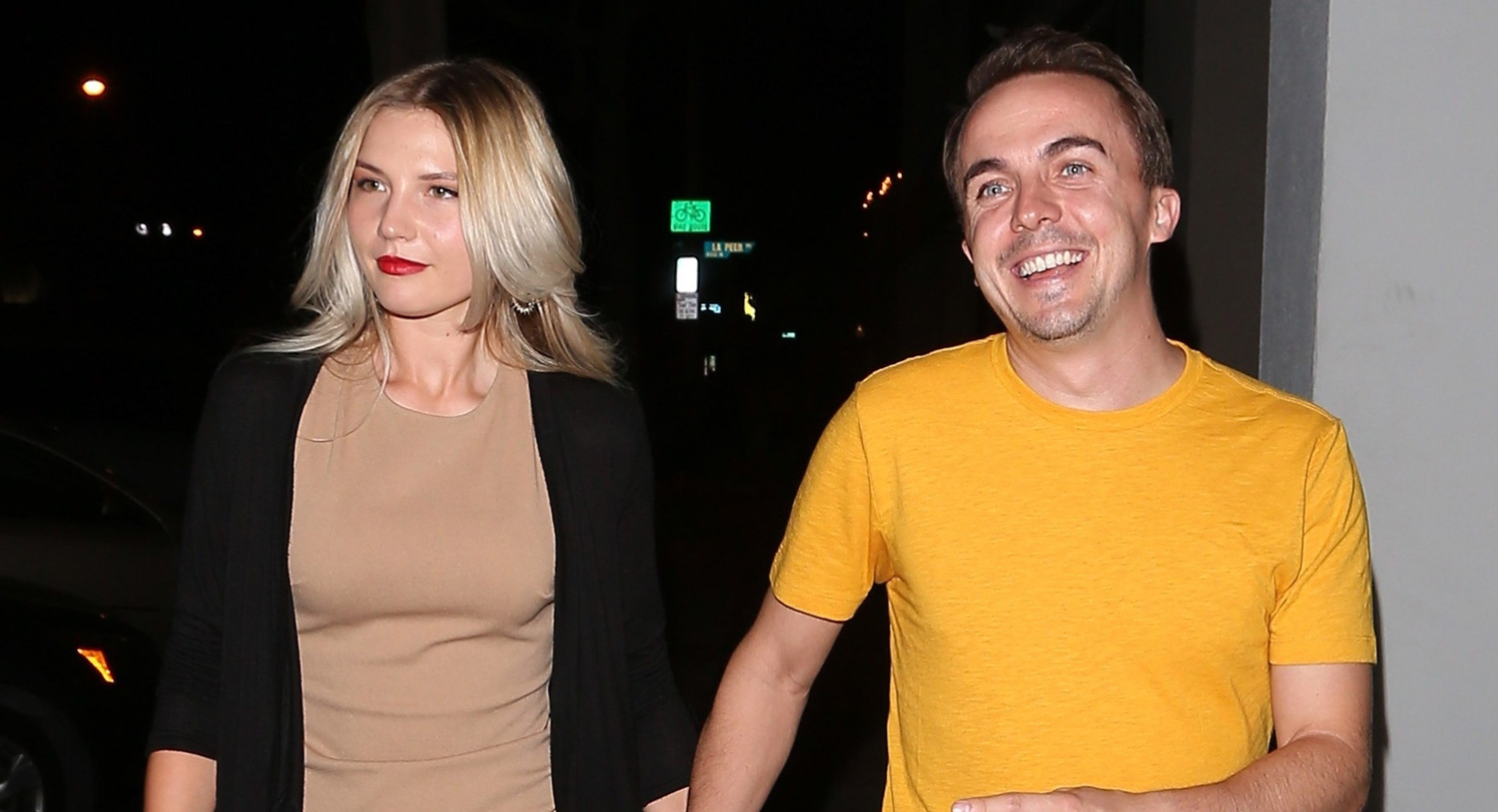 Frankie Muniz & Girlfriend Paige Price Hold Hands on Date ...