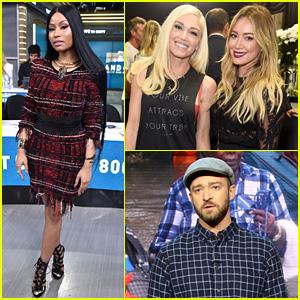 Nicki Minaj, Justin Timberlake, & More Music Stars Show Support for 'Hand in Hand'