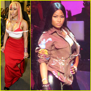 Nicki Minaj Performs 'Rake It Up' Live for First Time at NYFW