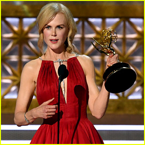 Nicole Kidman Thanks Emmys for 'Shining a Light on Domestic Abuse' During Acceptance Speech (Video)