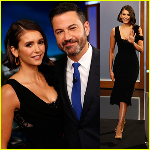 Nina Dobrev Chats About Her Epic 80s Inspired Labor Day Party on 'Jimmy Kimmel Live'