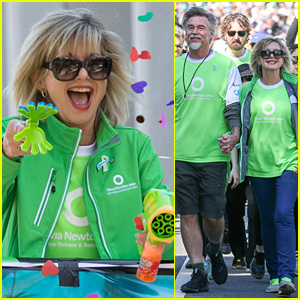 Olivia Newton-John is Glowing at ONJ Wellness Walk & Research Run!