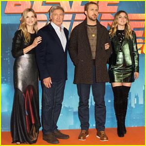 Ryan Gosling & Harrison Ford Hit London for 'Blade Runner 2049' Press Tour!