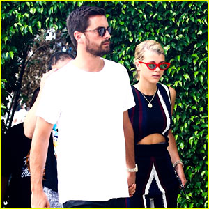 Scott Disick & Sofia Richie Continue PDA Filled Miami Trip