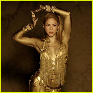 Shakira Is a Golden Goddess in 'Perro Fiel' Music Video With Nicky Jam - Watch Now!