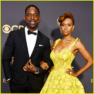 This Is Us' Sterling K. Brown Walks Emmys 2017 Carpet with Wife Ryan Michelle Bathe!