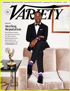 Sterling K. Brown Discusses His Emmys Acceptance Speech Being Cut Off