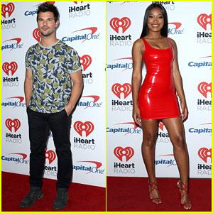 Taylor Lautner & Keke Palmer Are Scream Queens at iHeartRadio Music Festival