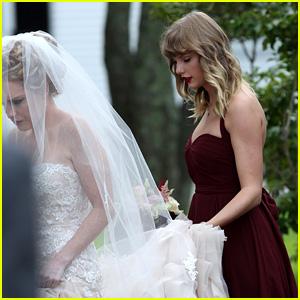 Taylor Swift Serves as Bridesmaid at BFF Abigail's Wedding (Photos)