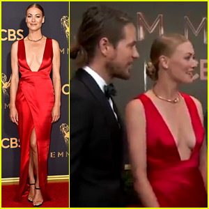 Yvonne Strahovski Is Married, Brings Husband to Emmys 2017!