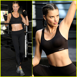Adriana Lima is Getting Toned for the Victoria's Secret Fashion Show 2017!