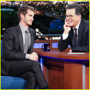 Andrew Garfield Says The World Doesn't Need Movie Stars on 'The Late Show' - Watch Here!