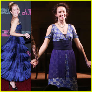 Anna Camp Celebrates Broadway Opening Night of 'Time and the Conways'!