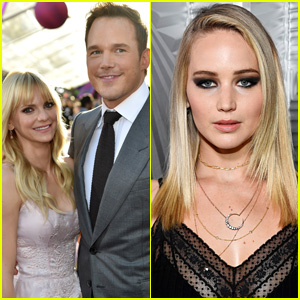 Anna Faris Speaks to Jennifer Lawrence & Chris Pratt Cheating Rumors in 'Unqualified'