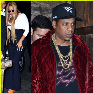 Beyonce Joins Jay-Z at 'SNL' After Party!