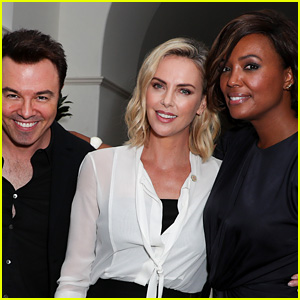 Charlize Theron, Aisha Tyler & Seth MacFarlane Celebrate 10th Anniversary of the Charlize Theron Africa Outreach Project!