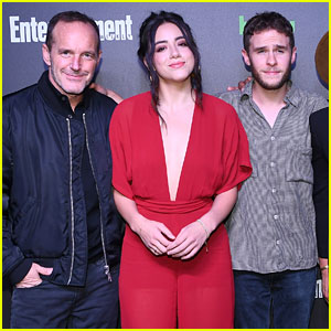 Chloe Bennet & 'Agents of Shield' Cast Hit Up Hulu's New York Comic Con After Party
