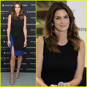 Cindy Crawford Gives a Tour of Her Impressive Closet - Watch!