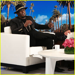 Diddy Tells Ellen His Success Motivation Is To 'Help People Who Are Less Fortunate Than Myself'